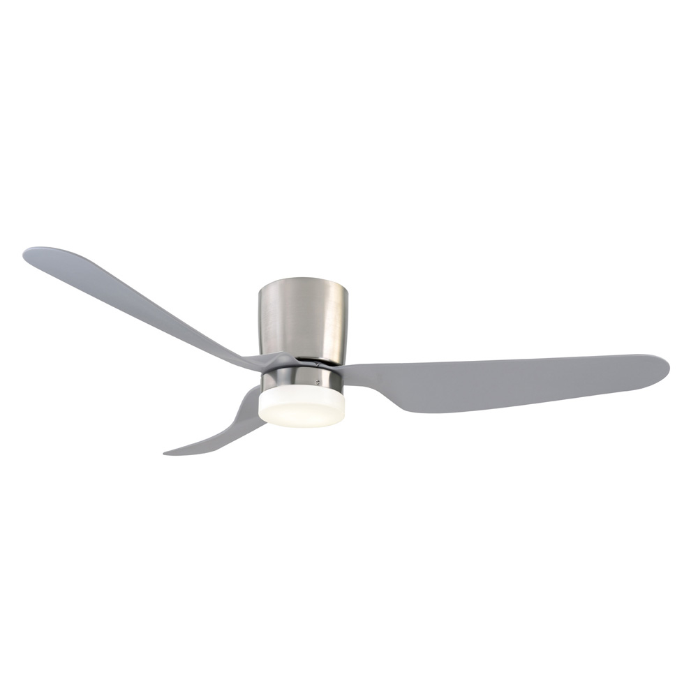 City 1300 Dc Ceiling Fan With Led Light Mercator